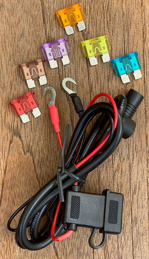 Assorted fuse pack for Volt 12V heated clothing wiring harness