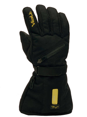 Heated Gloves by Volt have both fleece and nylon
