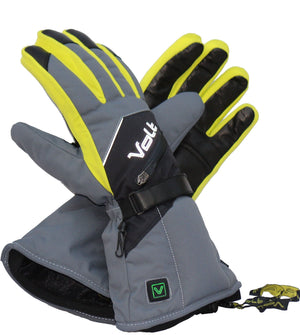 Heated Ski Glove by Volt has 20% more heat coverage