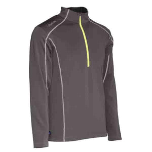 Jackets - THZ Men 5V Heated Thermal Half-Zip Pullover