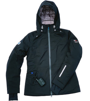 Summit Heated Jacket by Volt Heated Clothing. Women's jacket uses down fill for superior warmth