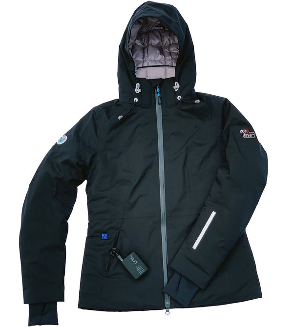 SUMMIT 5v Heated Down Jacket For Women