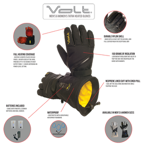 Tatra Heated Gloves Features