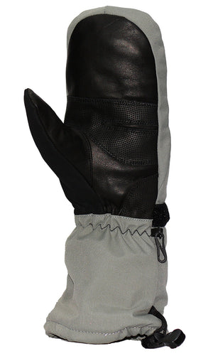 Leather palm for great feel