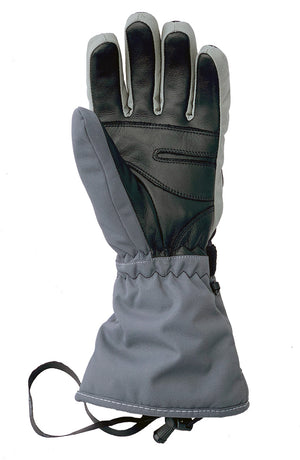 Volt Heated Gloves have a leather palm