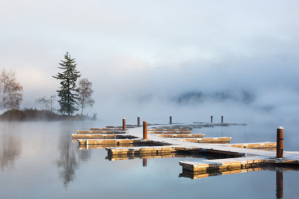 Foggy Winter Day on Lake Whatcom - http://jennifermorrowphotography.com/