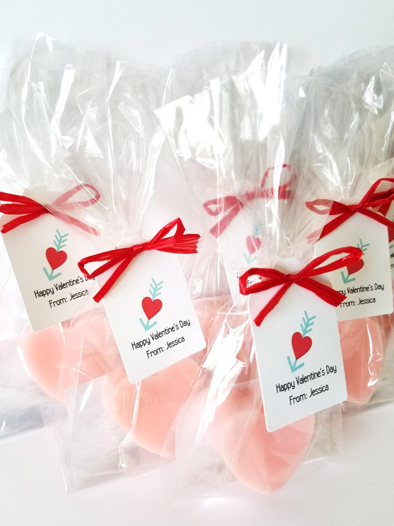 Kids Heart Soap Valentine\'s Day Party Favors, Set of 12 – The Lovely ...