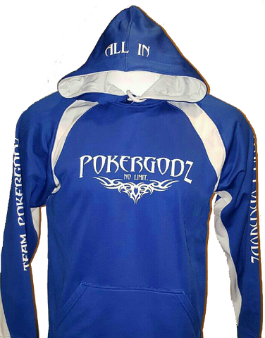 SPORTS PERFORMANCE HOODIE: FULL BLOWN (Blue)