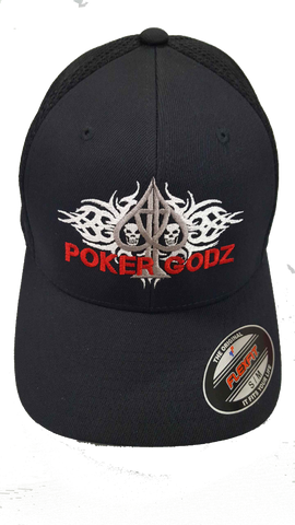 """SKULLZ"" POKERGODZ HAT"