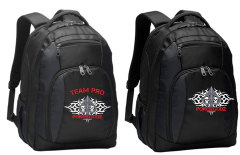 """THE COMMUTER"" POKERGODZ BACKPACK"