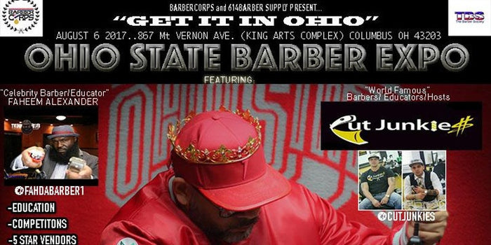 August 6, 2017, OHIO STATE BARBER EXPO, COLUMBUS, OH