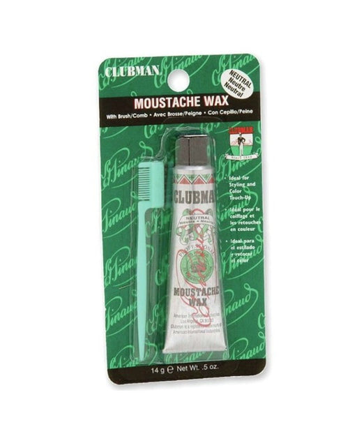 Clubman Moustache Wax Kit - 14 Grams / .5 Ounces