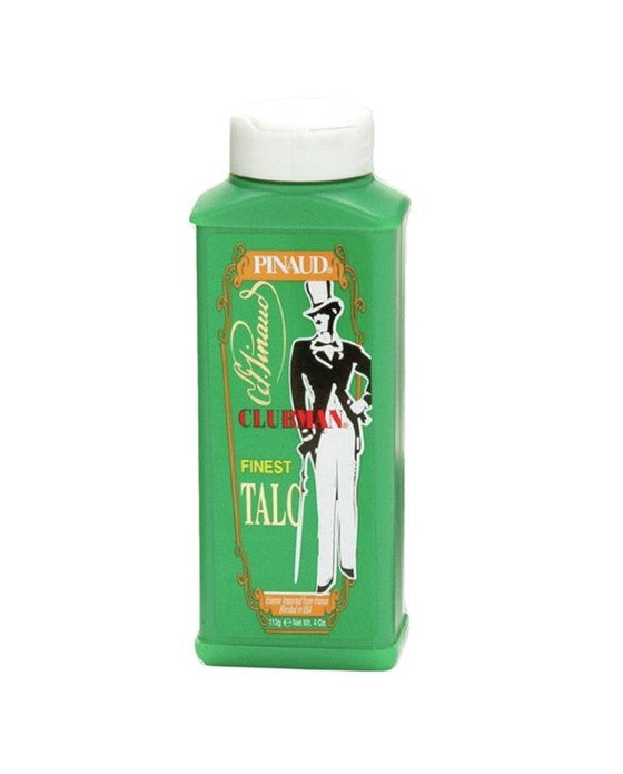 Clubman Finest Talc White - 4 Ounce Bottle