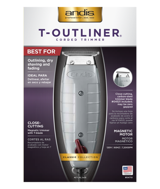ANDIS T-Outliner Trimmer CORDED TRIMMER