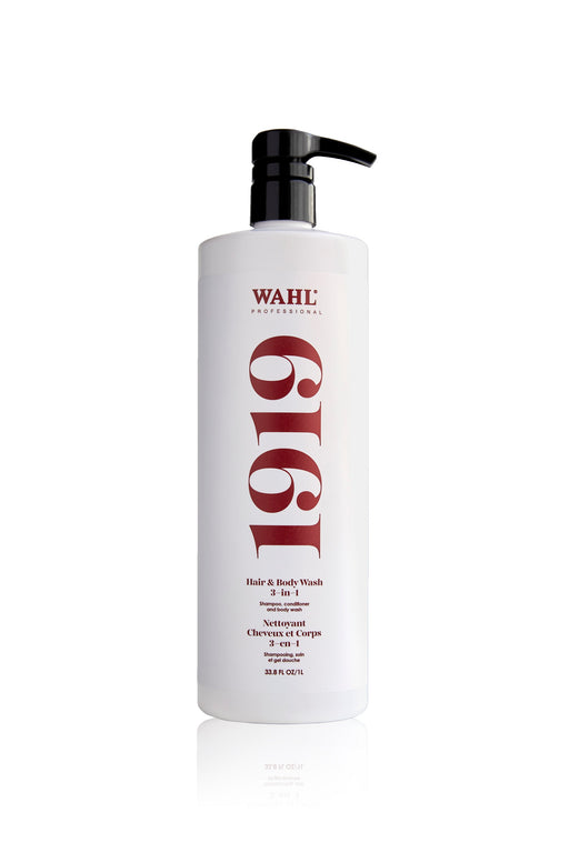 WAHL-542470 WAHL 1919 Hair and Body Wash 3-in-1 (1L/33.8oz)