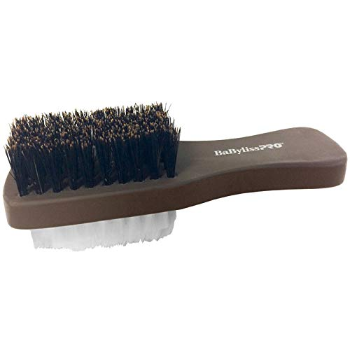 Babyliss Pro 2-sided clipper cleaner brush.