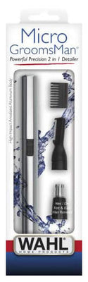 WAHL-556057 Wahl Lithium Micro Grooms Man Wet/Dry Precision 2 in 1 Detailer.