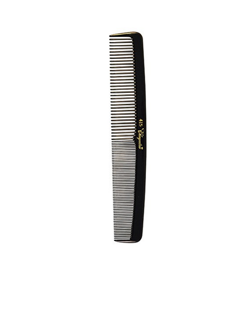 Cleopatra 415  Black Styling Comb 12-Pack