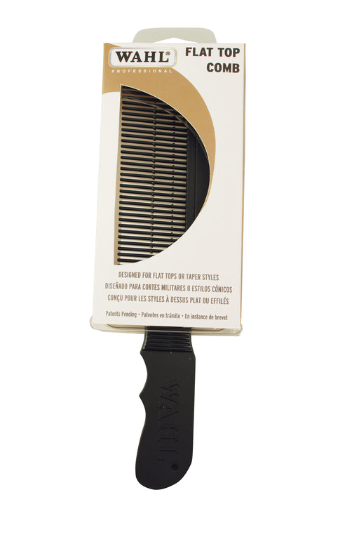 Wahl Barber Flat Top Comb (Black)