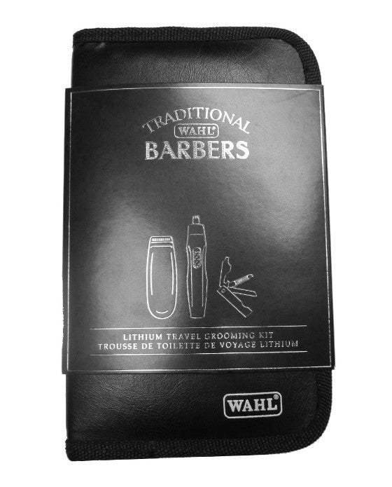 Wahl Traditional Barbers Lithium Travel Grooming Kit