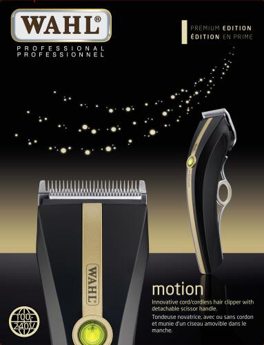 WAHL Premium Motion Professional Cord/Cordless Lithium Ion Clipper
