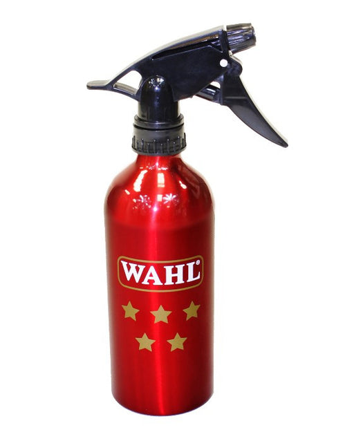 Wahl 5 Star Aluminum Spray Bottle (Red Edition)