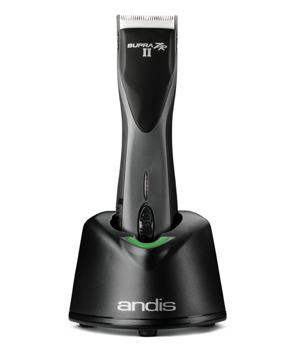 ANDIS Supra ZR II Cordless 5-Speed Clipper w/Lithium Ion Battery (Blue & Black)