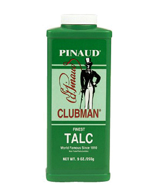 Clubman Finest Talc White - 9 Ounce Bottle