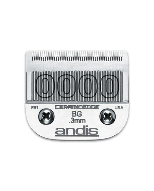 "Andis Size 0000 - Graduation Blade Very Close Cutting - 1/100"" - .25 mm"