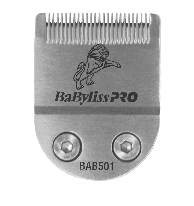 Babyliss Snap-in 30 mm fine tooth straight blade.
