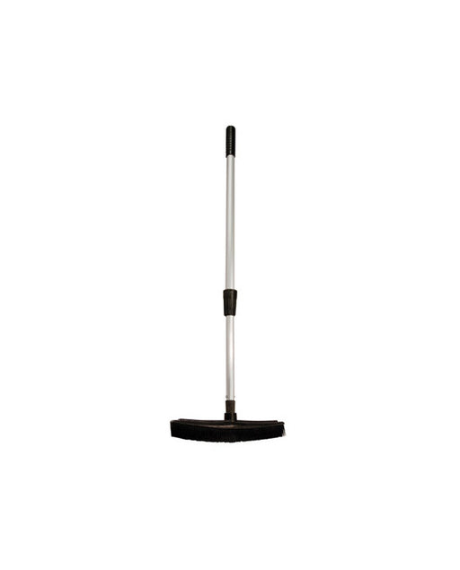 Barber Supplies Co. Professional Rubber Broom with Telescopic Handle
