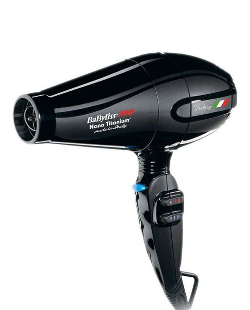 BaByliss Pro Nano-Titanium and Ionic Hairdryer (Black)