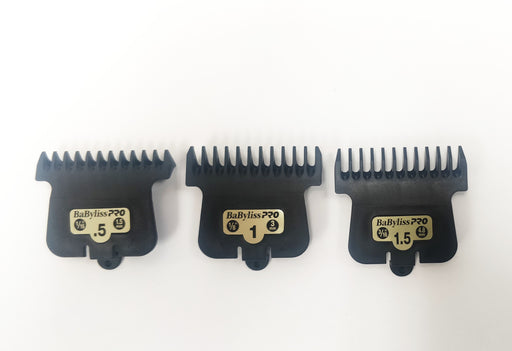 BabylissPRO Comb attachment, set of 3