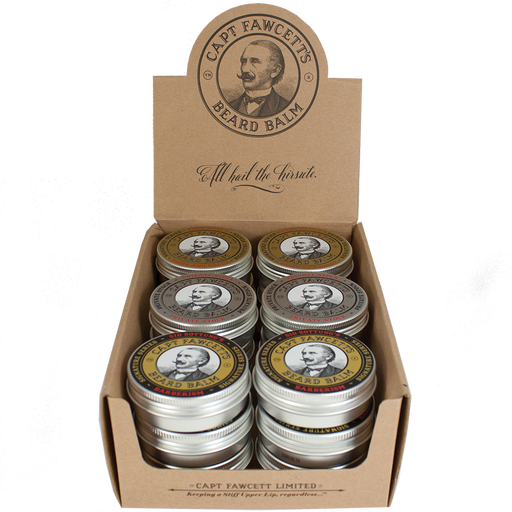 Captain Fawcett's Beard Balm Set Bundle