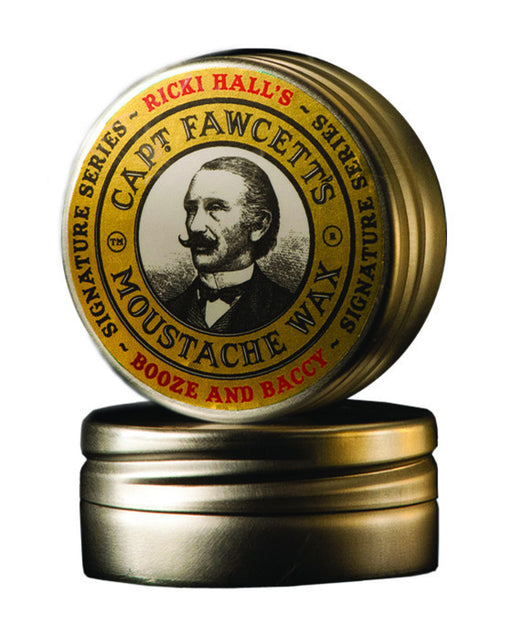 Captain Fawcett's Ricki Hall's Moustache Wax (15ml/0.5oz),