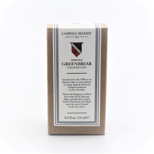 Caswell Massey Heritage Greenbriar 15ml Cologne