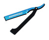 Dovo Shavette, Blue With Black Handle,