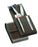 Dovo Razor and Manicure Set in Brown Leather Case,