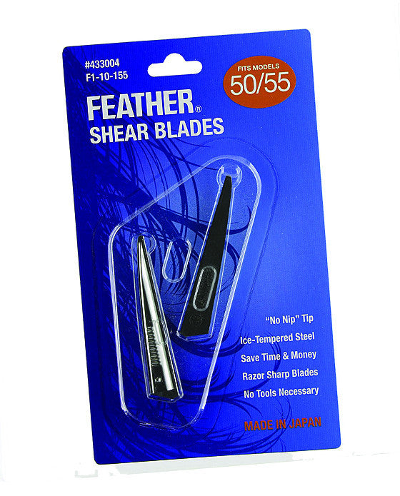 Feather Shear Replacement Blades Model #50/55,