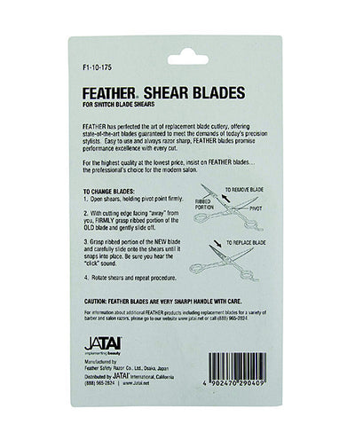 Feather Shear Replacement Blades Model #70/75