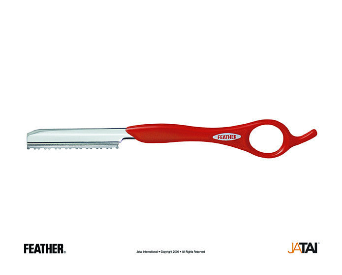 Feather Texturizing Styling Razor, Red Handle