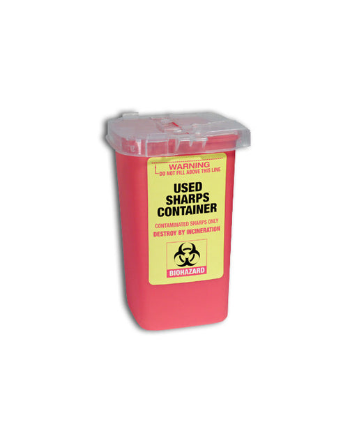 Barber Supplies Co. Used Sharps Container