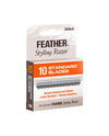 Feather Standard Replacement Blades (10 Blade Dispenser)