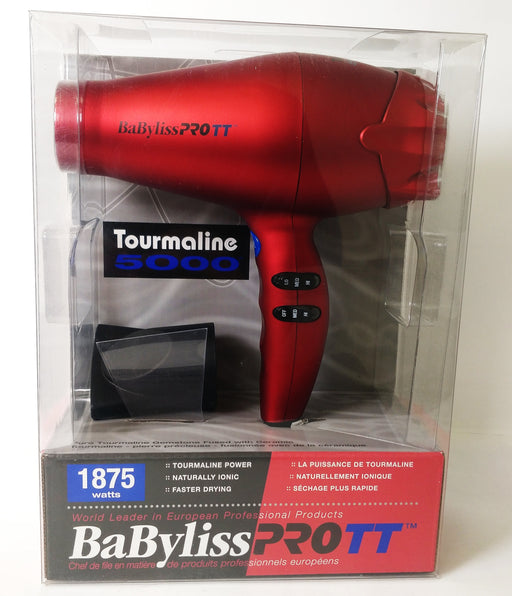 Babyliss Ionic, tourmaline, and ceramic hairdryer.