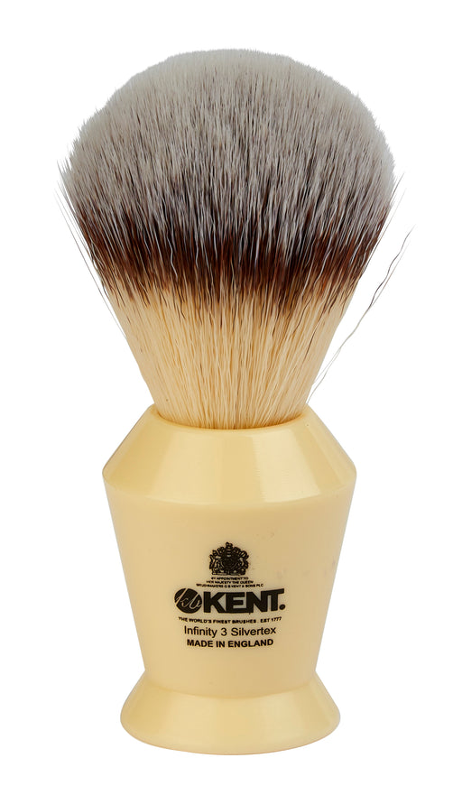 "Kent ""Infinity"" Super Soft Silvertex, synthetic brush"