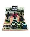 Jack Dean Retail Counter Top Stand (Pre-Loaded)