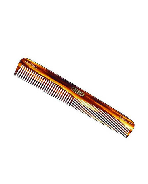 Kent K-6T Comb, Dressing Table Comb, Coarse/Fine (175mm/6.9in)