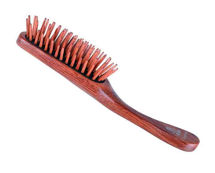 Kent Hog Brush, Cushion Base, Rosewood Quill & Handle (K-WOODYHOG)
