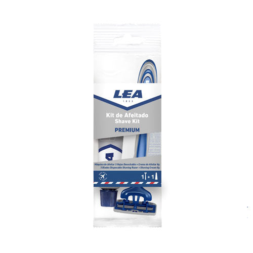 Lea Premium Shaving Kit (8gm Shaving Cream + Razor) Pack of 12