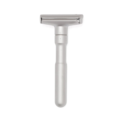 Merkur Futur Adjustable Double Edge Safety Razor with Snap Closure, Matte